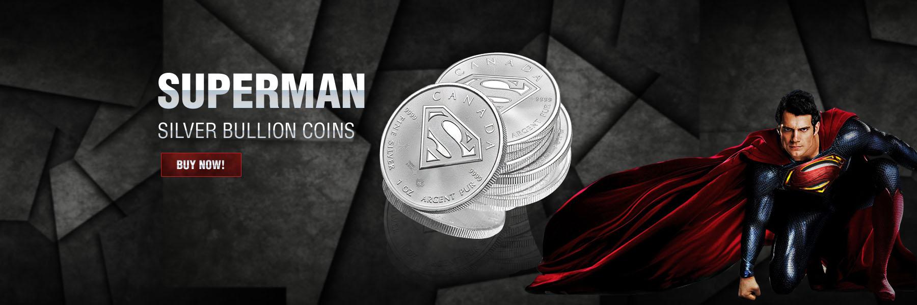 Superman Silver Bullion Coins
