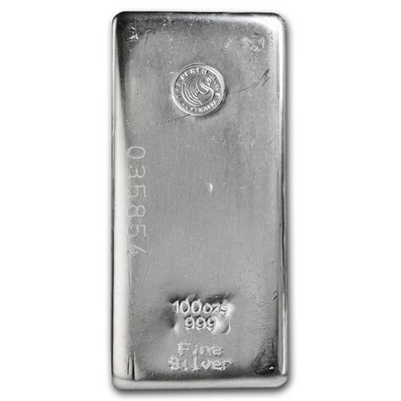 100oz Perth mint Silver bar