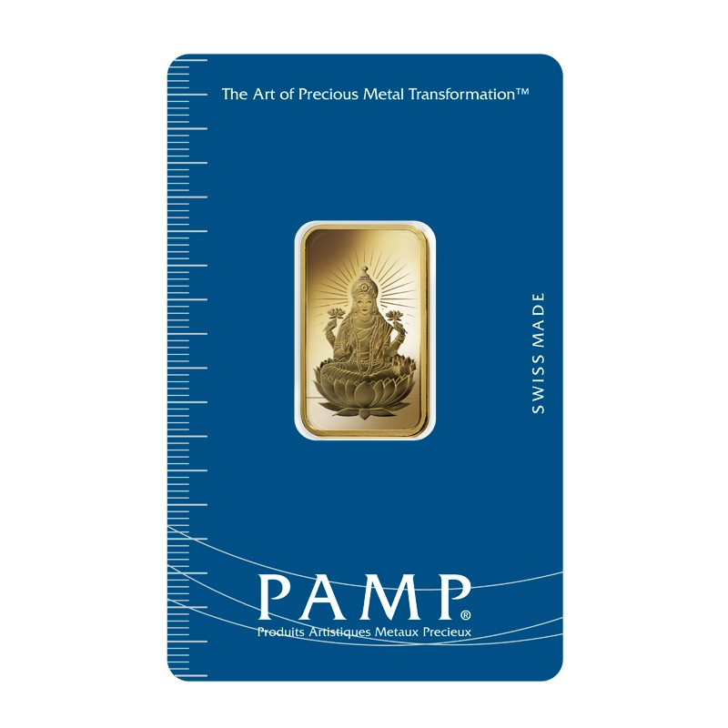 10g PAMP Lakshmi Gold Bar