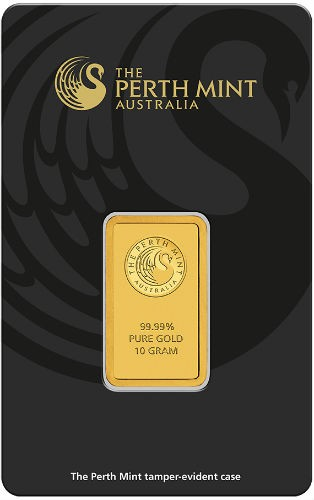 10 gram Perth Mint Gold bar