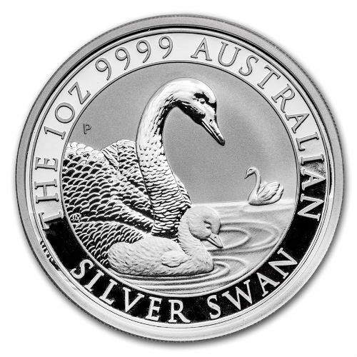 1 oz 2019 Swan Silver Coin by Perth Mint