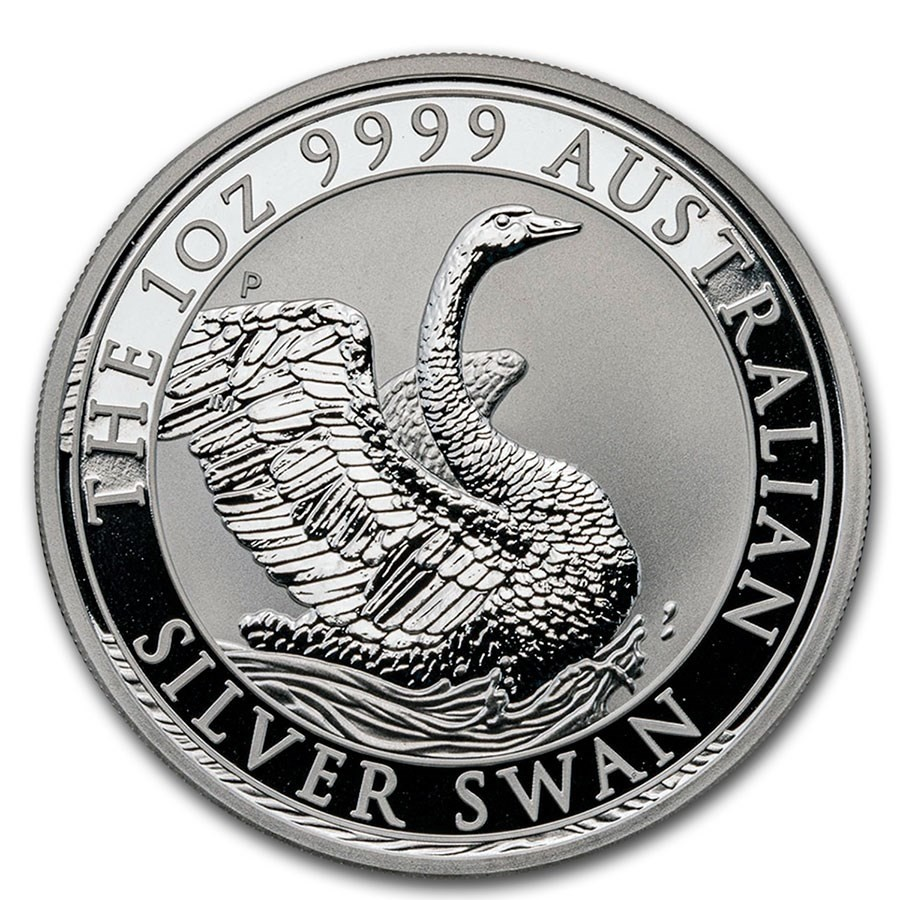 1 oz 2020 Swan Silver Coin by Perth Mint