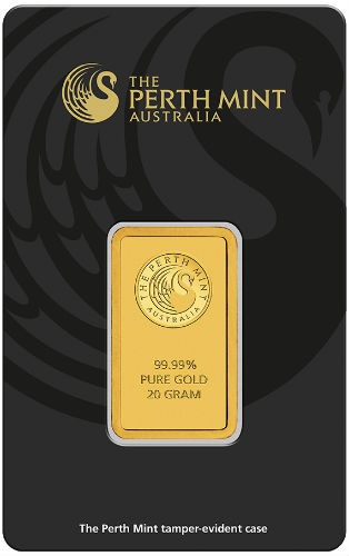 20 Gram Perth Mint Gold Bar