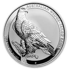 1oz Silver Wedge Tail 2016 Coin