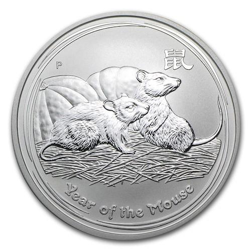 Lunar Mouse Silver Coin