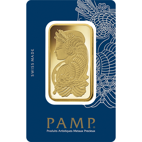 PAMP Minted gold bar 100 g