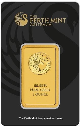 1 oz Perth Mint Gold Bar