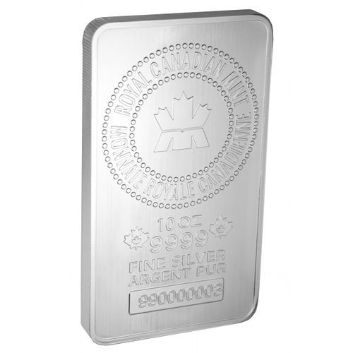 10 oz Canadian Mint Silver Bar