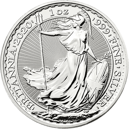 1oz 2020 Silver Britannia UK Mint
