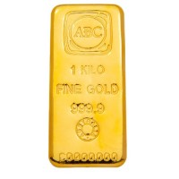 1 KG ABC Bullion Gold Bar