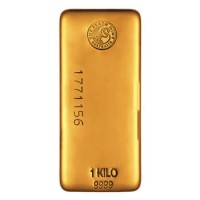! Kilo Gold bar by Perth Mint