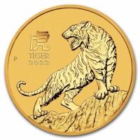 1oz Lunar Tiger 2022 Gold Coin