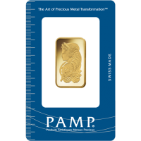 20 gram PAMP Minted Gold Bar