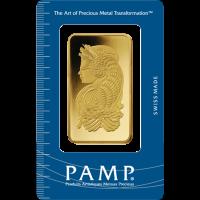 50 Gram PAMP Gold Bar