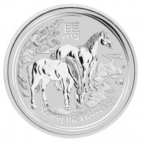 Lunar Silver Horse 1oz Perth Mint
