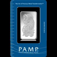 PAMP 1oz Silver Bar