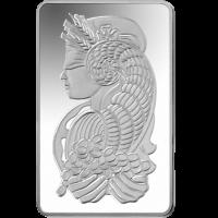 10oz PAMP Silver bar
