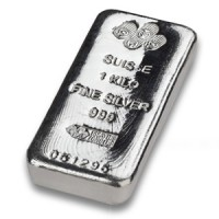 PAMP 1kg Silver bar