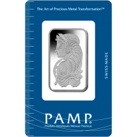 1oz Pamp Platinum Bar