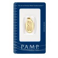 PAMP gold pendant