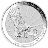1oz Silver Wedge Tail 2019 Coin