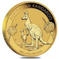 1/10oz 2020 Gold Kangaroo Perth Mint Coin