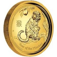 2016 Proof Lunar Monkey Gold 1oz Coin
