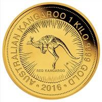 1kg Gold Kangaroo Coin