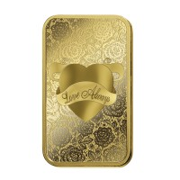 1oz  PAMP Love Always Gold Bar