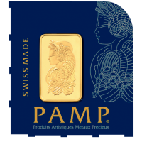 PAMP Multigram 1g gold bars