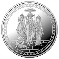 1 oz ABC  Diwali Indian Sri Ram Silver Coin