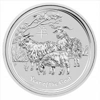 Lunar Goat 2015 Silver Coin