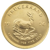 1oz Gold Krugerrand Random Years