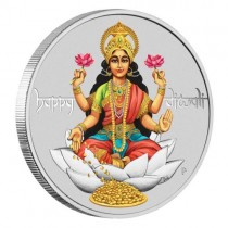 1 oz Perth Mint Diwali Indian Silver Coin
