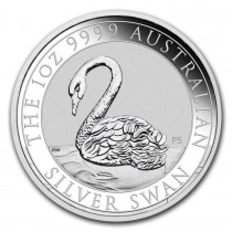 1 oz 2021 Swan Silver Coin by Perth Mint