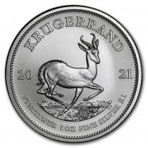 2021 1oz Silver Krugerrand Coin South African Mint