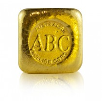 1oz ABC Gold cast bar