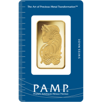 1 oz PAMP Gold Bar