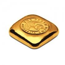 1 oz Perth Mint Gold cast bar