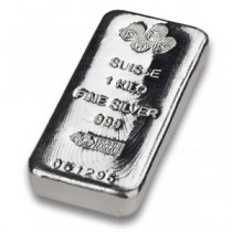 PAMP 1kg Silver bars