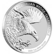 1oz Silver Wedge Tail 2020 Coin