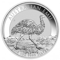 1oz Silver Emu 2018 Perth Mint Coin