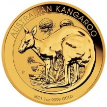 2021 Kangaroo 1 oz Gold Coin