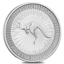 1oz Silver Kangaroo Perth Mint Coin