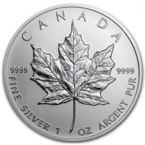 1oz 2020 Canadian Silver Maple Coin
