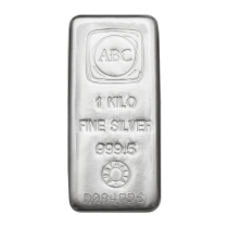 ABC 1kg Silver bars