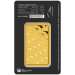 Minted Gold Bullion Bar