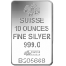PAMP minted silver bar