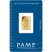 5 Gram PAMP gold minted bar